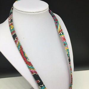 Vera Bradley Jewelry - Vera Bradley Lanyard Keychain Badge ID Holder